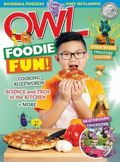 Owl (AU) magazine cover