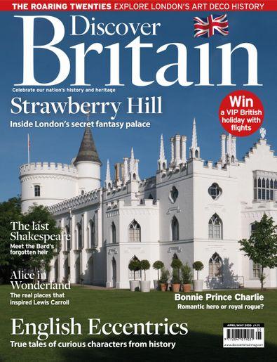 Discover Britain (UK) magazine cover