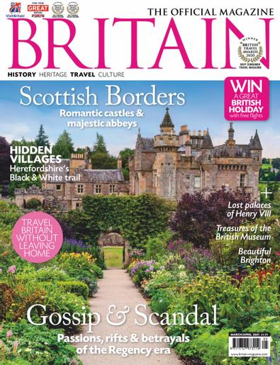 BRITAIN (UK) magazine cover