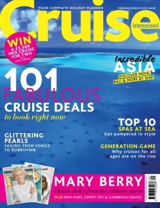 Cruise International (UK) magazine cover