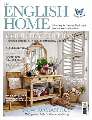 The English Home (UK) magazine cover