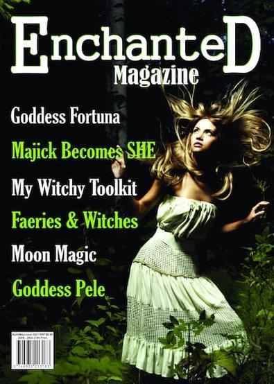 Enchanted (AU) magazine cover