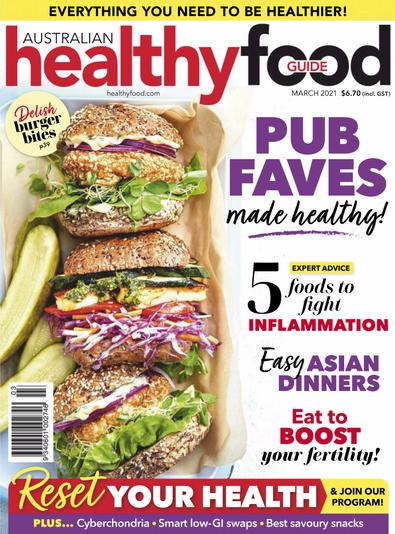 Healthy Food Guide (AU) magazine cover