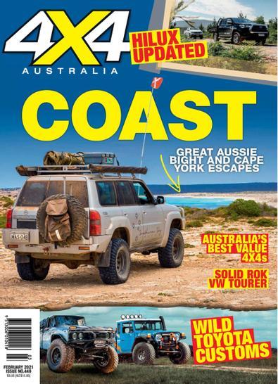 4x4 Australia (AU) magazine cover