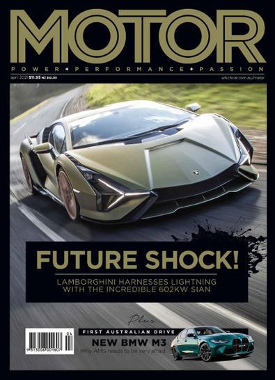 MOTOR (AU) magazine cover
