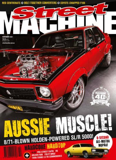 Street Machine (AU) magazine cover