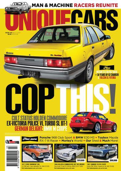 Unique Cars (AU) magazine cover