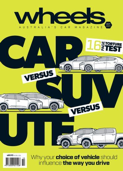 Wheels (AU) magazine cover