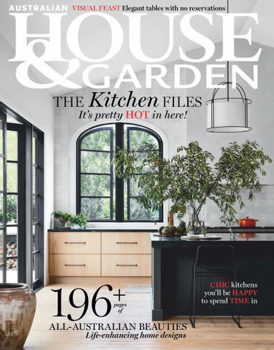 Australian House & Garden (AU) magazine cover