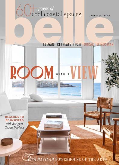 belle (AU) magazine cover