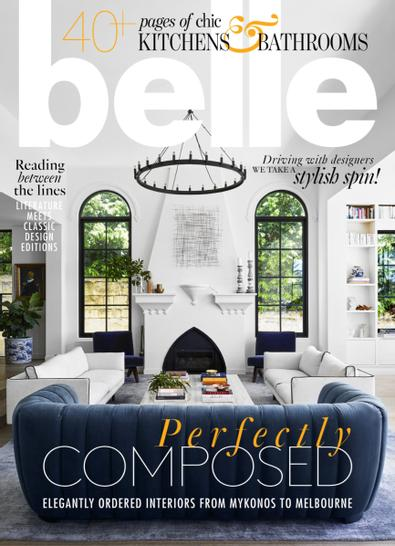 belle (AU) magazine cover