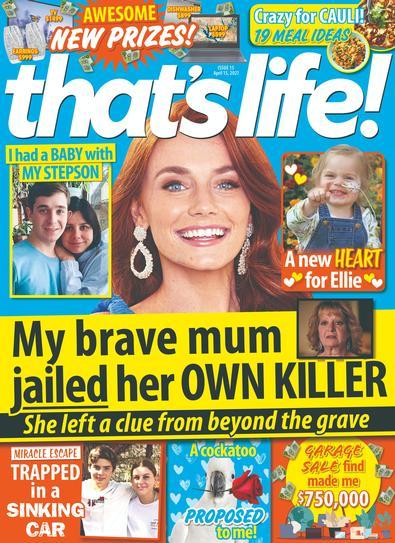 That's Life! (AU) magazine cover