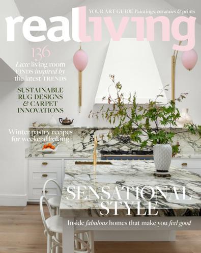 Real Living (AU) magazine cover
