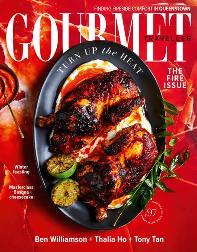 Australian Gourmet Traveller (AU) magazine cover