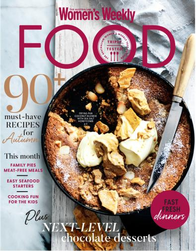 Australian Women's Weekly Food (AU) magazine cover