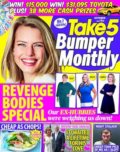 Take 5 Monthly (AU) magazine cover