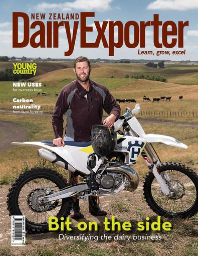 New Zealand Dairy Exporter magazine cover