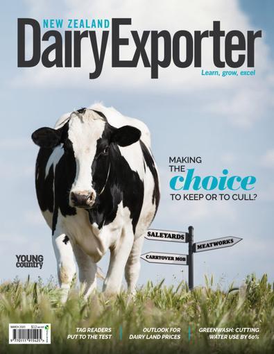 New Zealand Dairy Exporter magazine cover