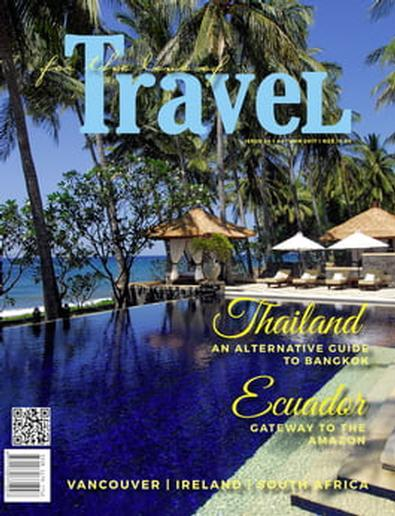 For the Love of Travel magazine cover