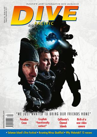 Dive Pacific magazine cover