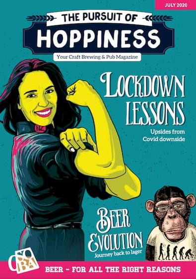 The Pursuit of Hoppiness magazine cover