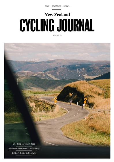 NZ Cycling Journal magazine cover