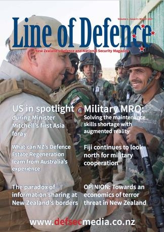 Line of Defence Magazine cover