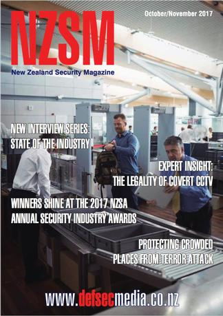 NZ Security Magazine cover