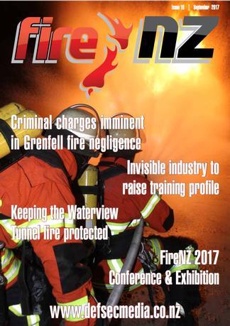 Fire NZ Magazine cover