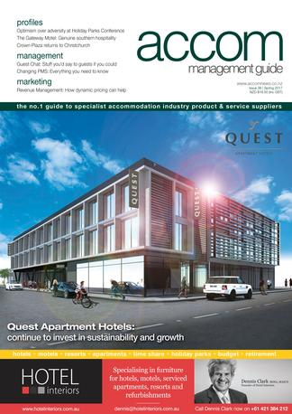 Accom Management Guide (AMG) magazine cover