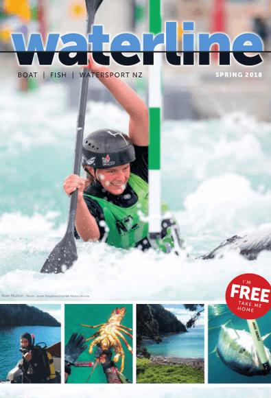 Waterline Magazine cover