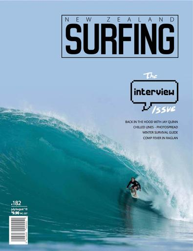 New Zealand Surfing magazine cover