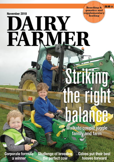 Dairy Farmer magazine cover