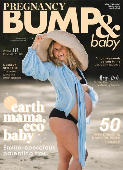 Pregnancy BUMP&Baby magazine cover