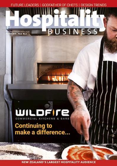 Hospitality Business magazine cover