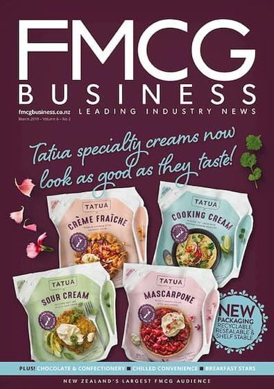 FMCG Business magazine cover