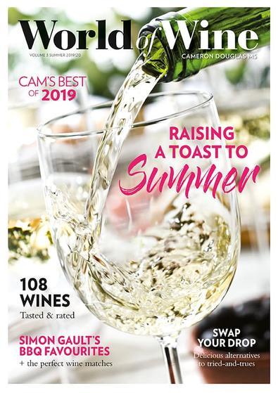 World Of Wine magazine cover