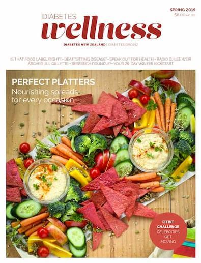 Diabetes Wellness magazine cover