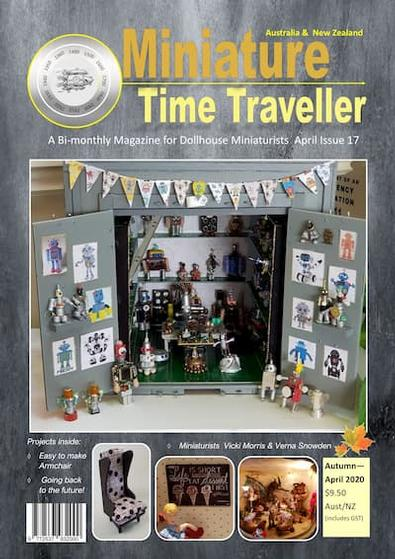 The Miniature Time Traveller magazine cover