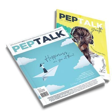 Peptalk magazine cover