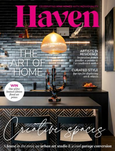 Haven magazine cover