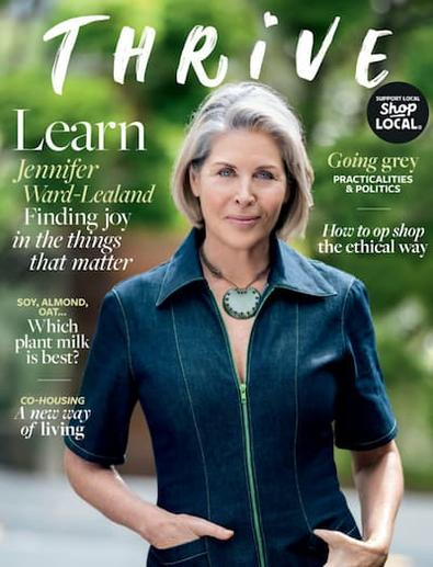 Thrive magazine cover