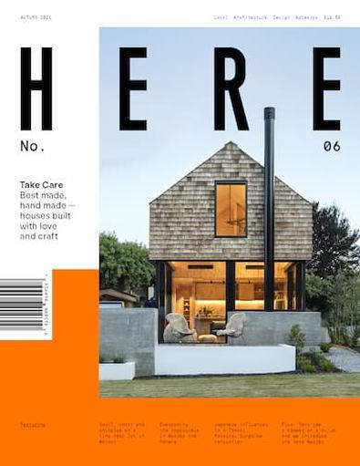 Here magazine cover