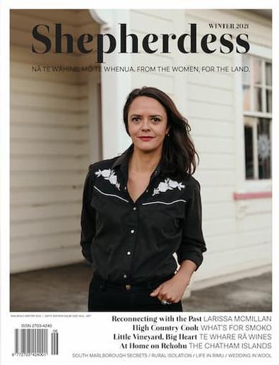 Shepherdess magazine cover