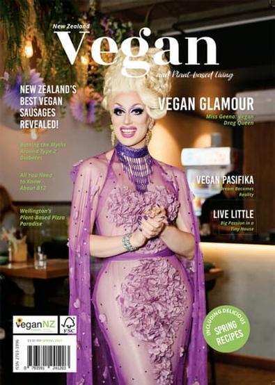 New Zealand Vegan and Plant-based Living magazine cover