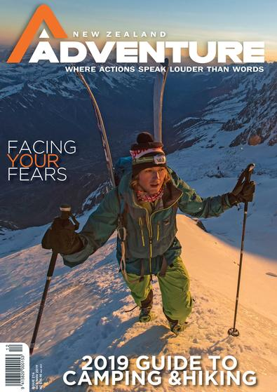 NZ Adventure Magazine cover