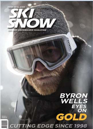 NZ Ski & Snow Magazine cover