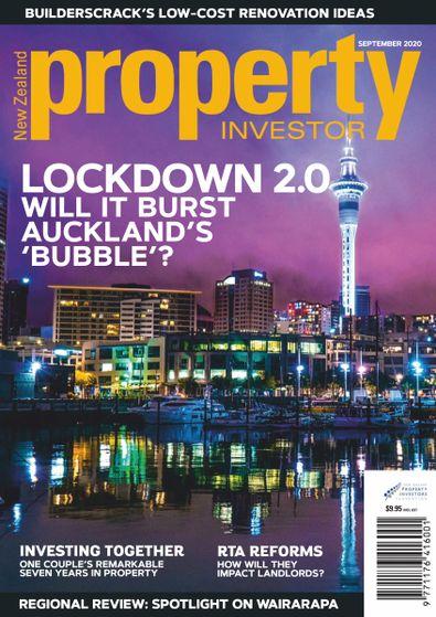 NZ Property Investor magazine cover