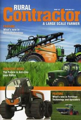 NZ Rural Contractor magazine cover