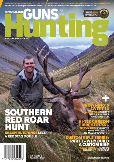 New Zealand Guns & Hunting magazine cover